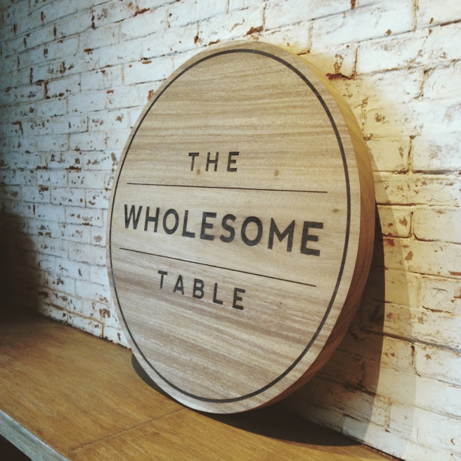 The Wholesome Table