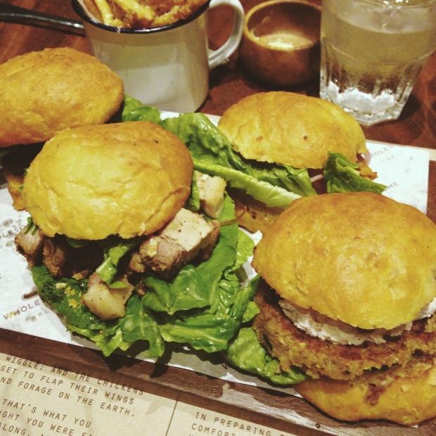 Burger Sample Plate