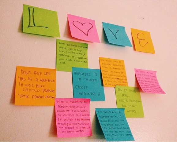 Positive Post-Its