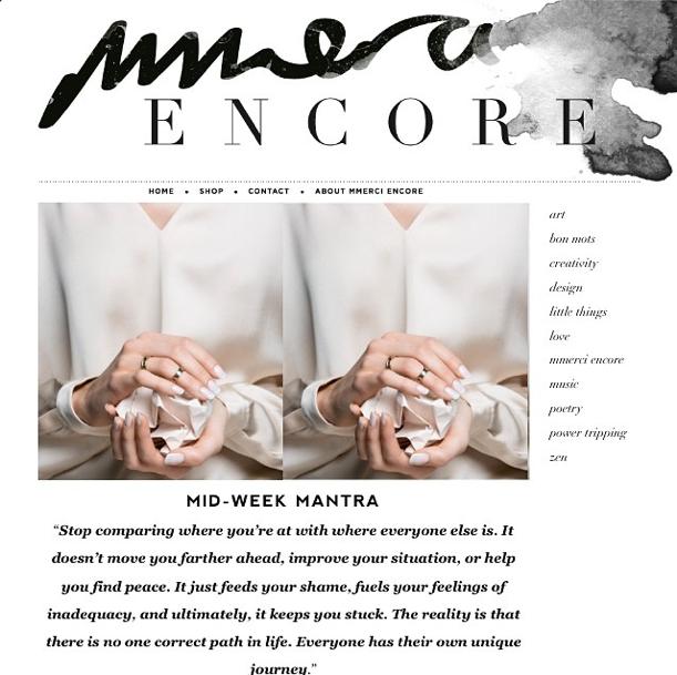Mmerci Encore Blog