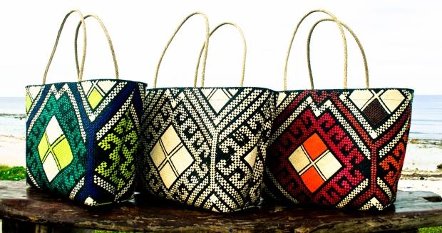 Malay Totes Pintados Design