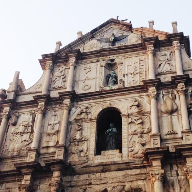 Ruins of Saint Pauls