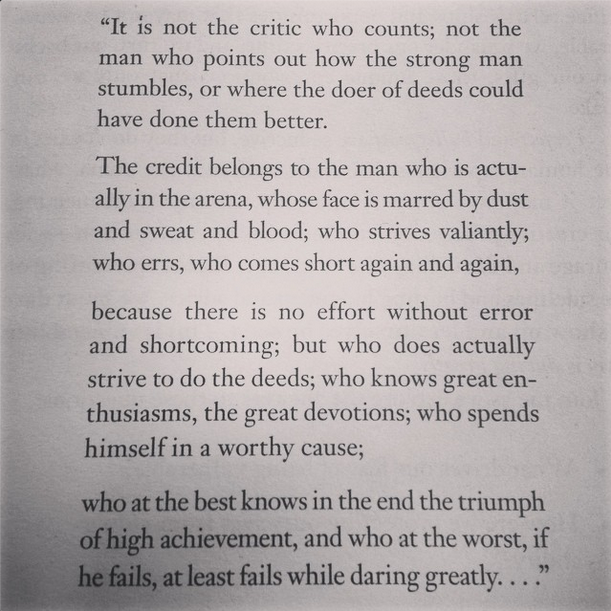 dare greatly