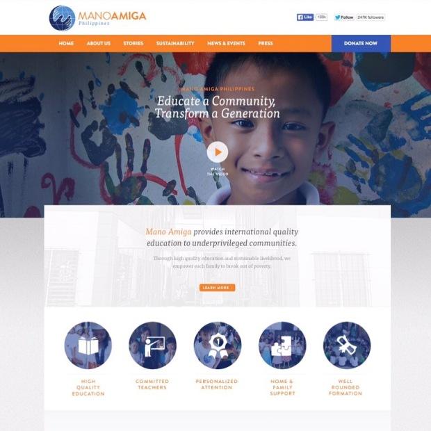 Mano Amiga Website