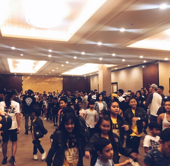 Photos: Jabbawockeez workshop in Manila – THE NEXT